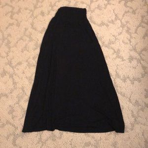 Black Maxi Skirt, Super Comfortable and Flattering